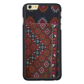Bhutanese Rugs Carved Maple iPhone 6 Plus Case