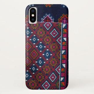 Bhutanese Rugs iPhone X Case