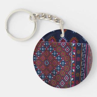 Bhutanese Rugs Keychain