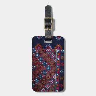 Bhutanese Rugs Luggage Tag