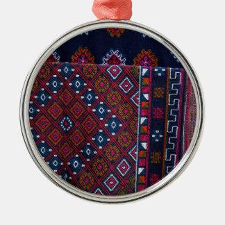 Bhutanese Rugs Metal Ornament