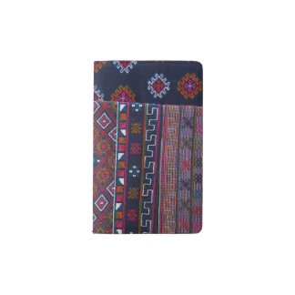 Bhutanese Rugs Pocket Moleskine Notebook