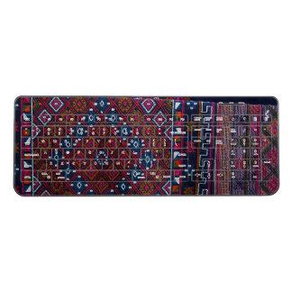Bhutanese Rugs Wireless Keyboard
