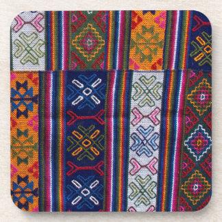 Bhutanese Textile Coaster
