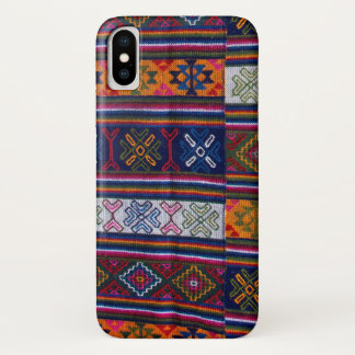Bhutanese Textile iPhone X Case