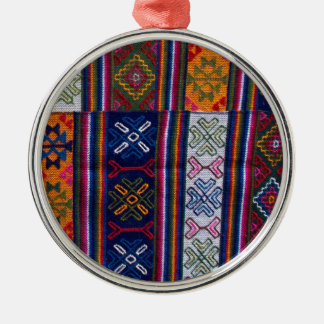 Bhutanese Textile Metal Ornament