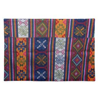 Bhutanese Textile Placemat