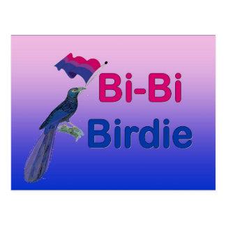 Bi-Bi Birdie Postcard