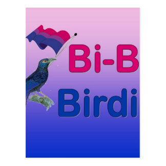Bi-Bi Birdie Post Card