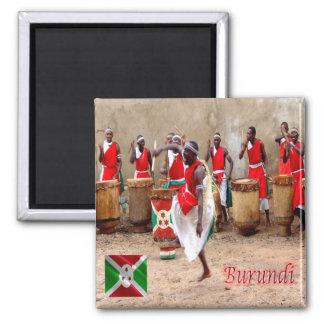 BI - Burundi - Spectacle de Tambours Magnet