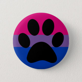Bi furry pride 2 inch round button