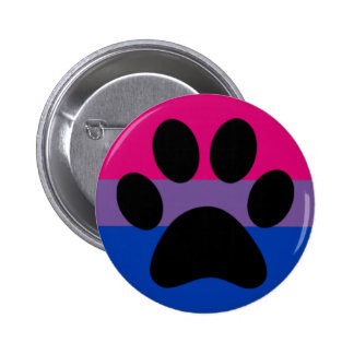 Bi furry pride 2 inch round button