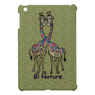 Bi Nature Bi Pride Spot Giraffes Case For The iPad Mini
