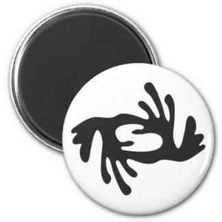 BI NKA BI | Symbol of Harmony, Peace, Cooperation Magnet