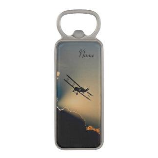 Bi Plane Sky Magnetic Bottle Opener