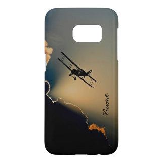 Bi Plane Sky Samsung Galaxy S7 Case