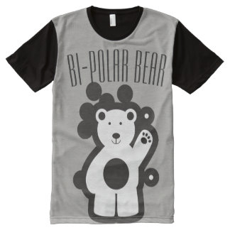 Bi-Polar Bear 101 All-Over-Print T-Shirt