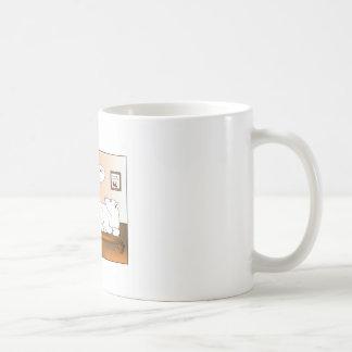 Bi-Polar Cartoon Coffe eMug Basic White Mug