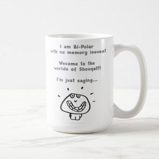 """'bi-polar"""" coffee mugs"""
