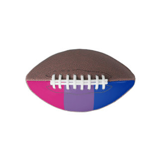 Bi Pride Flag Football