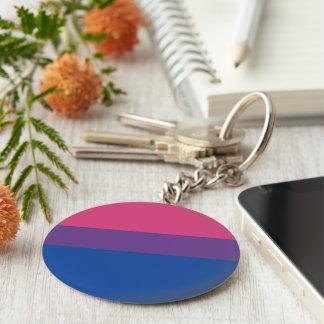 bi pride keychain