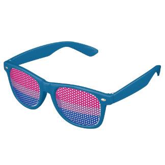 BI Pride Retro Sunglasses