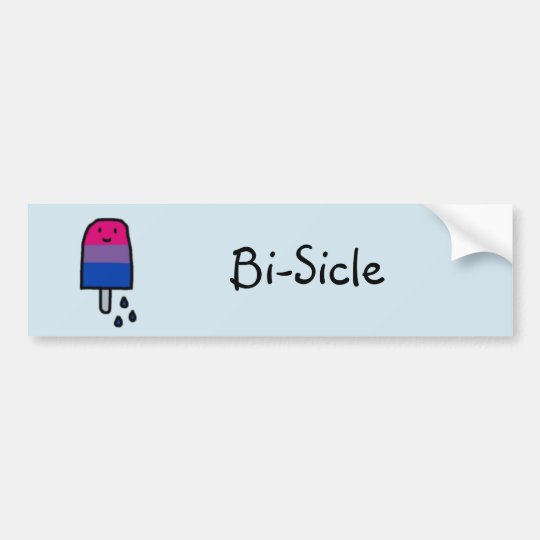 Bi-Sicle Bumper Sticker