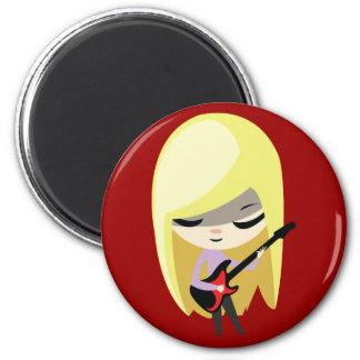 Biana the Blonde Bassist Magnet