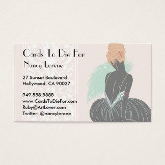 Bianca in Cream - Business Cards