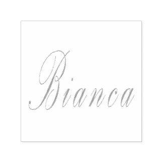 Bianca Name Logo, Self-inking Stamp