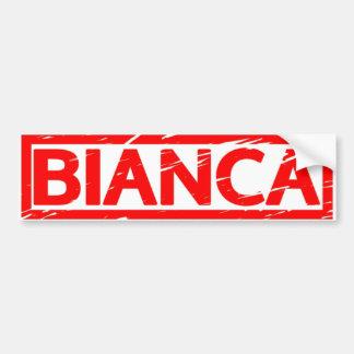 Bianca Stamp Bumper Sticker
