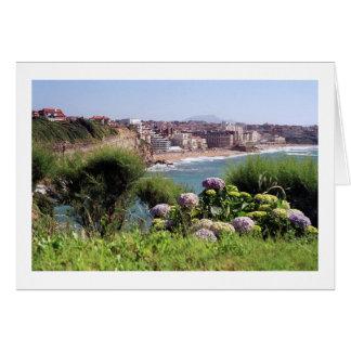 Biarritz, France Card