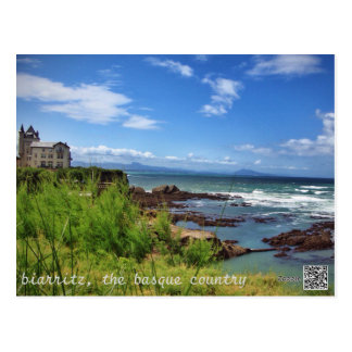 Biarritz, the Basque Country Postcard