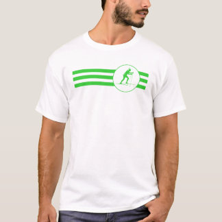 Biathlete Stripes (Green) T-Shirt