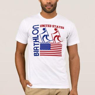 Biathlon United States T-Shirt