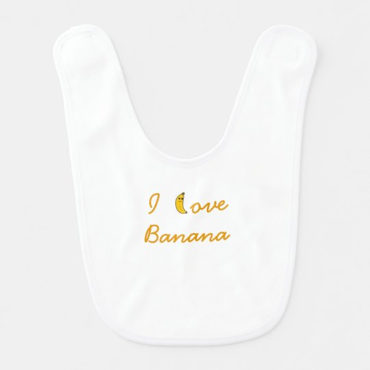 Bib I love Banana