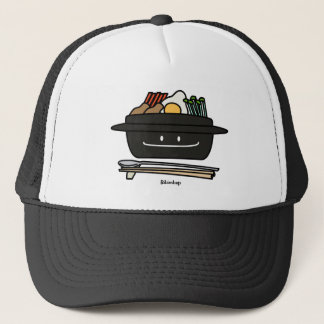 Bibimbap Korean rice bowl namul vegetables egg Trucker Hat