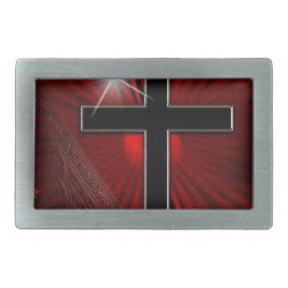 Bible-278 Rectangular Belt Buckle