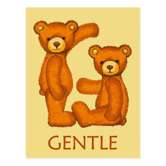 Bible Bears ~ Gentle Scripture Postcard