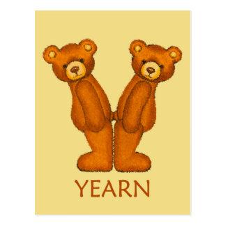 Bible Bears ~ Youth Scripture ~ Flashcard Postcard
