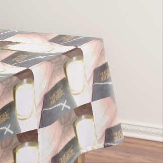 Bible Candle Cross Tablecloth