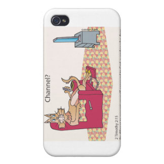 Bible Channel Surfing iPhone 4/4S Cover