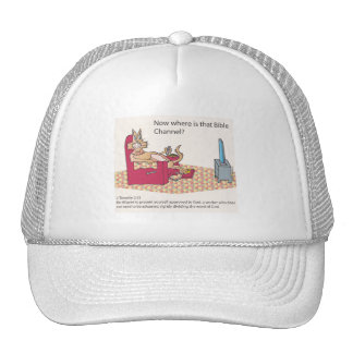 Bible Channel Surfing Trucker Hat