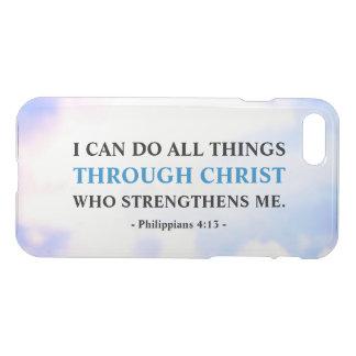 Bible Faith Quote Motivational Uncommon iPhone 8/7 Case