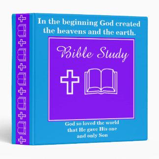 Bible Faith Study Binder