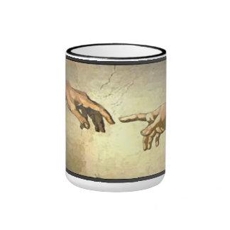 Bible:  God & Adam Coffee Mug