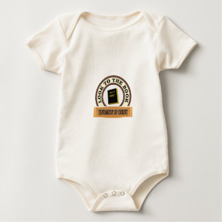 bible look to the book baby bodysuit