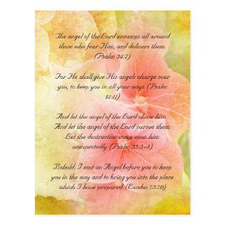Bible passage postcard