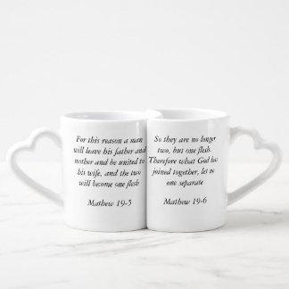 Bible Quote Marriage Couple Mug
