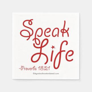 Bible Quotes Disposable Napkins